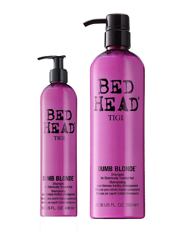 tigi bed head dumb blonde shampoo. Black Bedroom Furniture Sets. Home Design Ideas