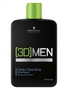 Schwarzkopf§3D Men Deep Cleansing Shampoo 250ml