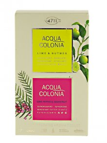 4711§Acqua Colonia Aroma Tücher Lime & Nutmeg + Pink...