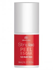 Alessandro§Striplac Peel Or Soak 123 Ruby Red