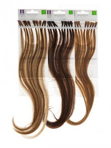 Balmain§Fill-In Extensions Natural Straight Human-Hair 30cm 10 Stück