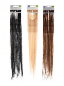 Balmain§Fill-In Extensions Straight Human-Hair 45cm 10 Stück