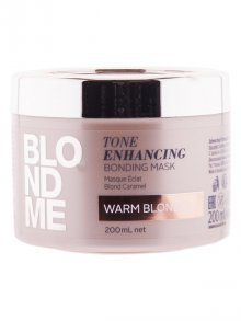Schwarzkopf§Blondme Tone Enhancing Bonding Mask Warm Blond 200ml