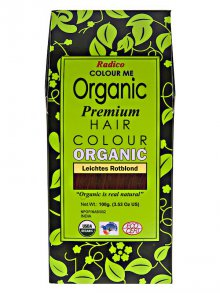 Radico§Colour Me Organic Premium Hair Colour Leichtes Rotblond