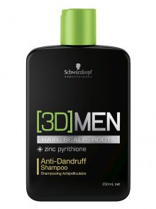 3D Men Anti-Dandruff Sh 250ml