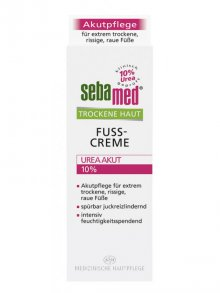 Sebamed§Fusscreme Urea Akut 10% 100ml