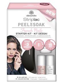 Alessandro Striplac Peel Or Soak Starter Kit French Nails
