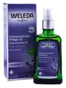 Weleda Lavendel Entspannendes Pflege-Öl 100ml
